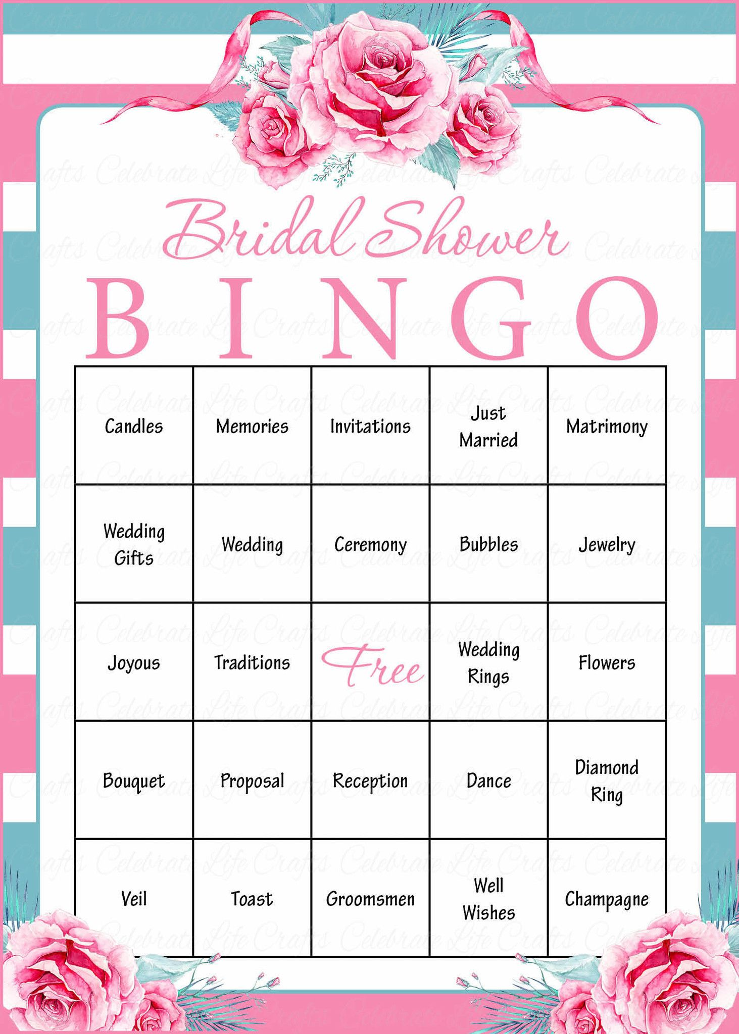 Peaceably All Ages All Ages Will Download You Can Print Your Bridal Bingo Pdf Right Bridal Shower Bingo Is A Shower Game That Guests Bridal Shower Bingo Is A Shower Game That Guests