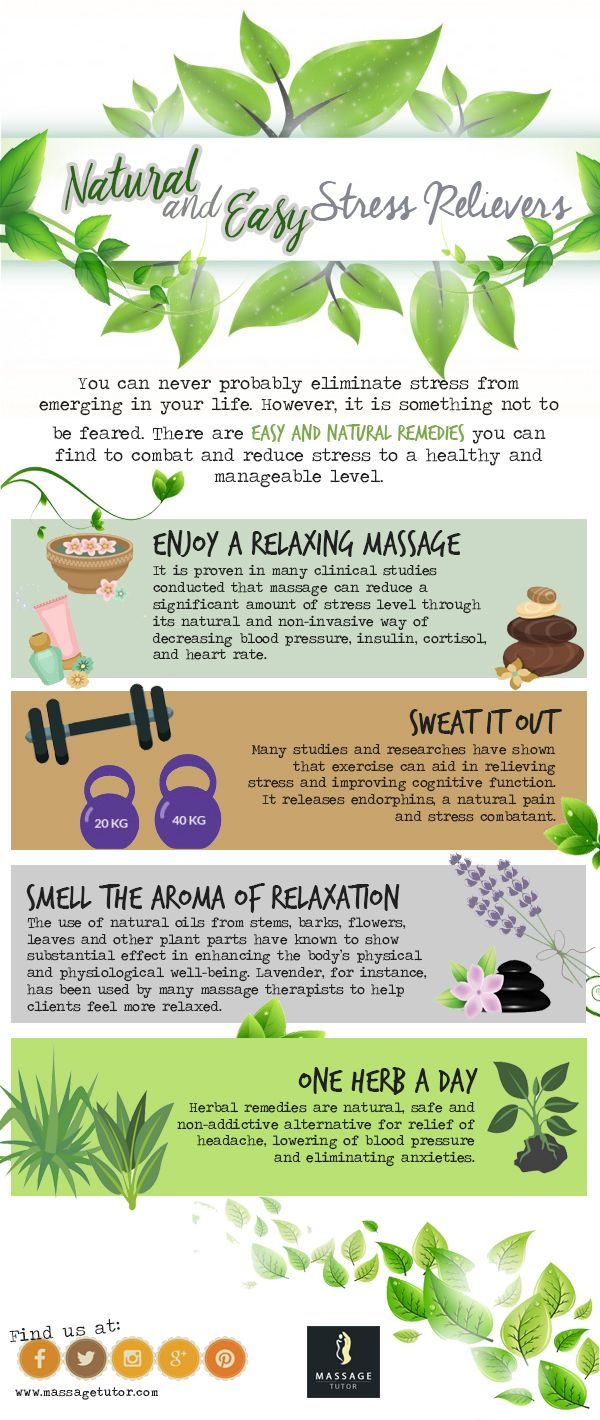 There are easy and natural remedies you can find to combat and reduce stress to a healthy and manageable level.
