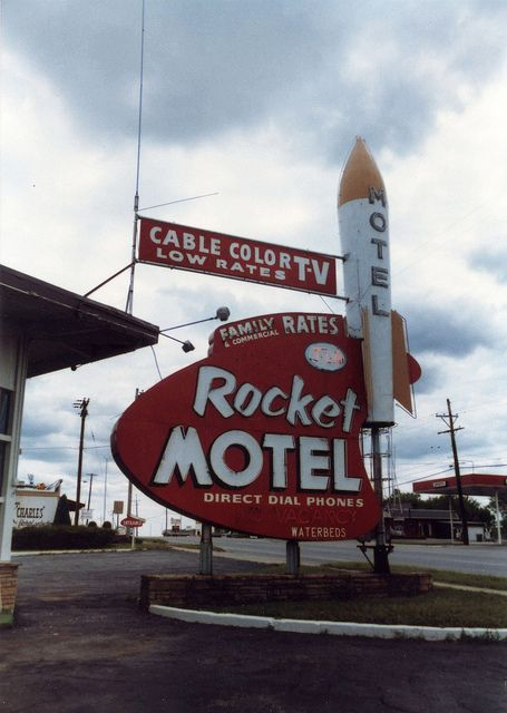 Rocket Motel Joplin Missouri Motel Vintage Rockets