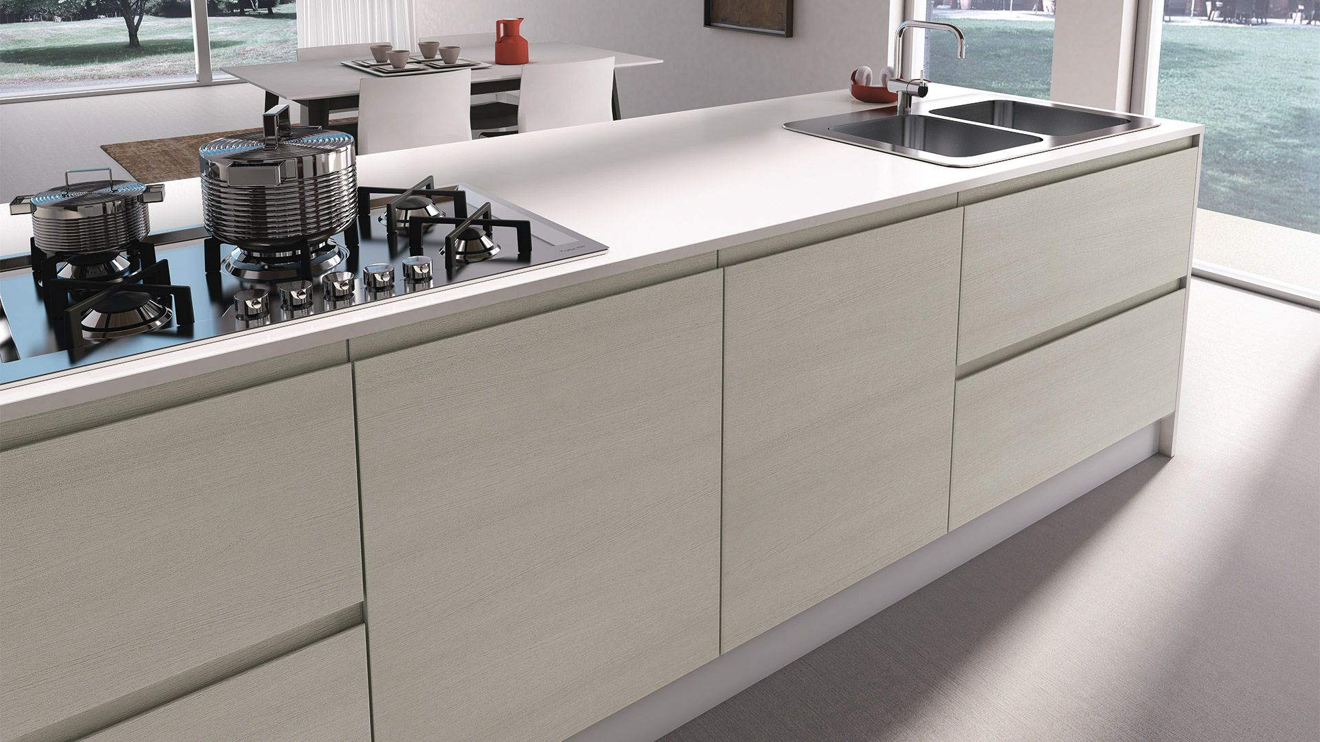 Cucina Jey - Cucine Moderne - Creo Kitchens nel 2019 ...