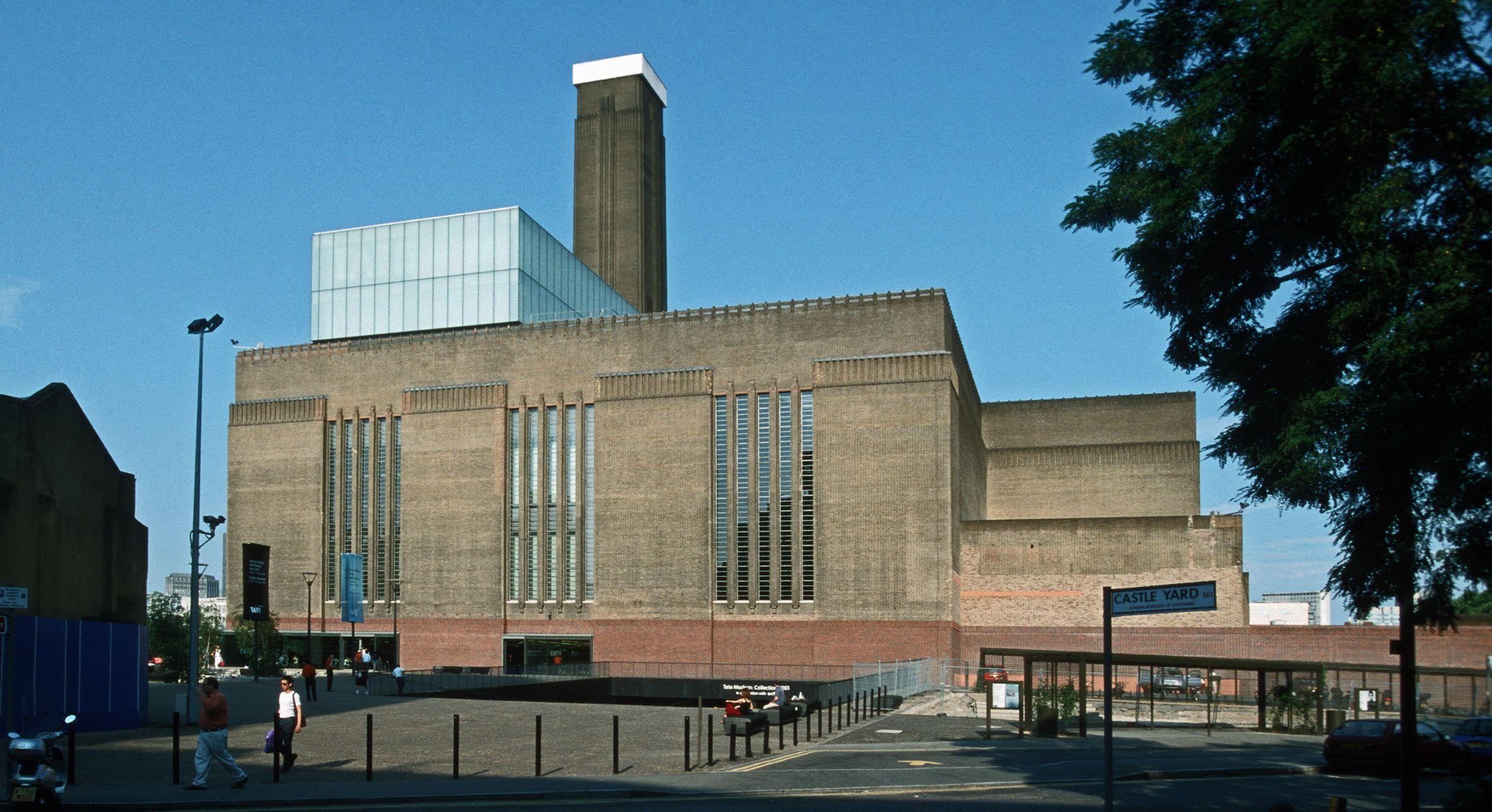 Tate Modern Wikipedia Wolna Encyklopedia Architecture