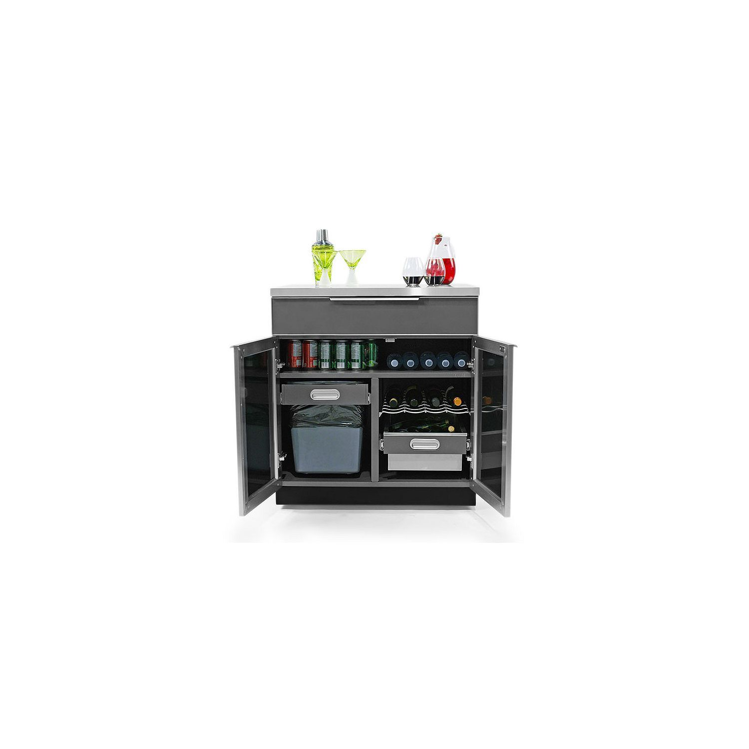 Newage Products Outdoor Kitchen 32 Aluminum Bar Cabinet Sam S Club Outdoor Kitchen Bar Cabinet Newage Products