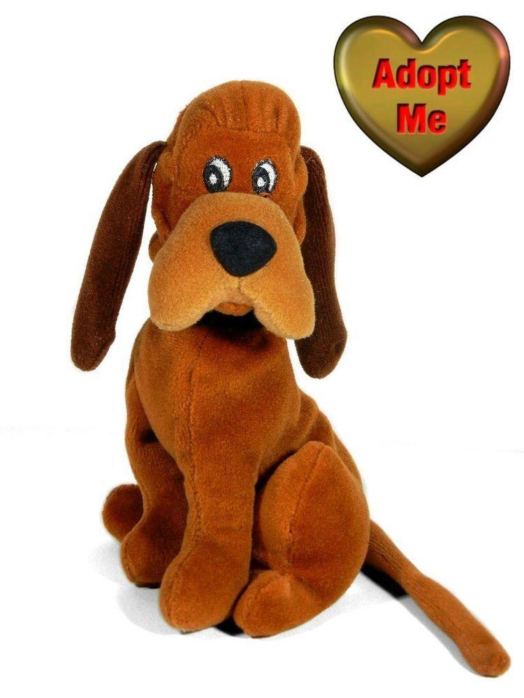 Disney Lady And The Tramp Trusty Bloodhound Dog Beanie Stuffed Plush Animal 6in Disney Dog Beanie Lady And The Tramp Plush Animals