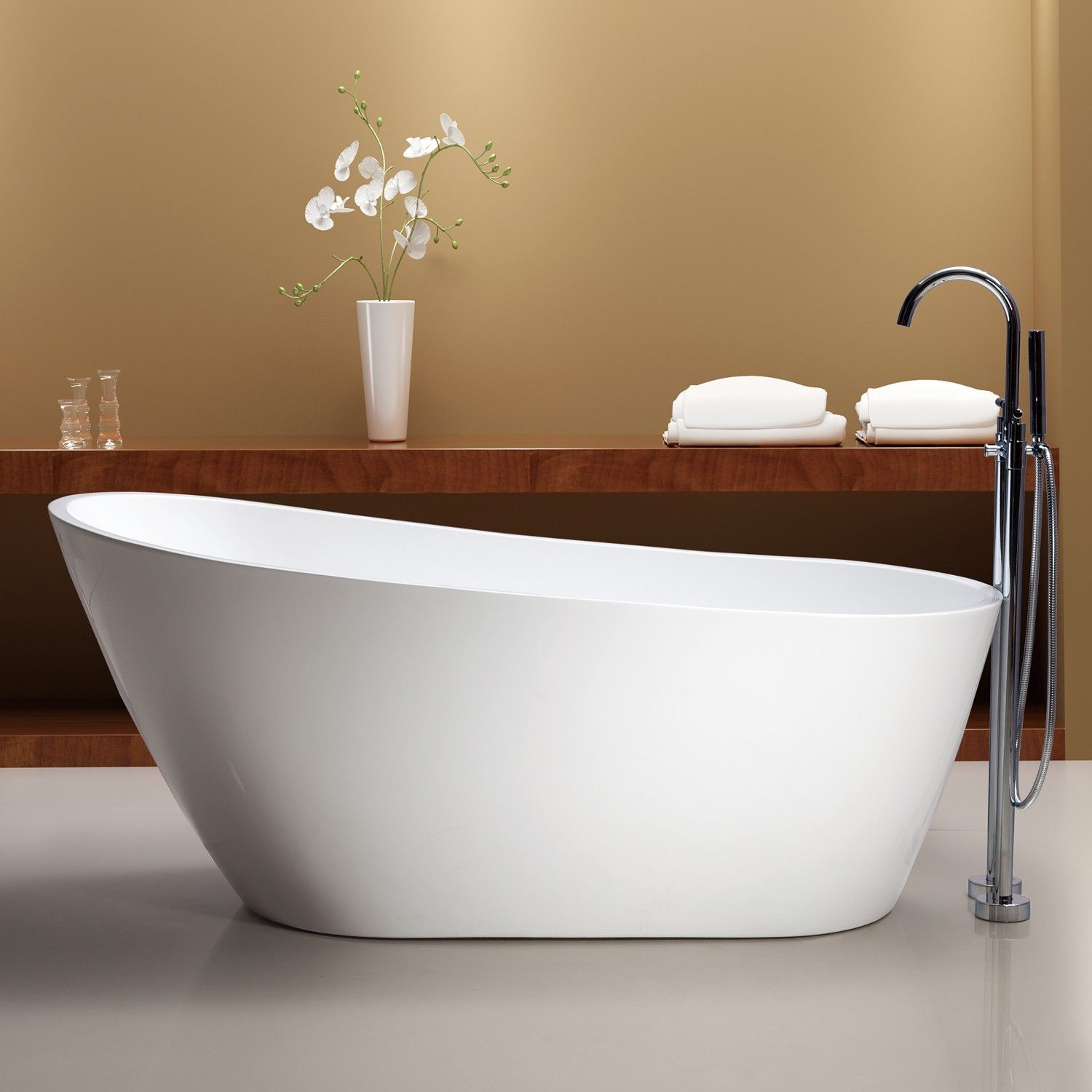 Add A Striking Statement Piece To Your Modern Bathroom With The