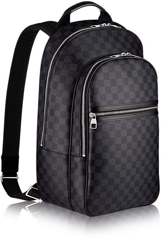 46e2ee11bef Louis Vuitton Backpack Michael NM Damier Graphite Noir