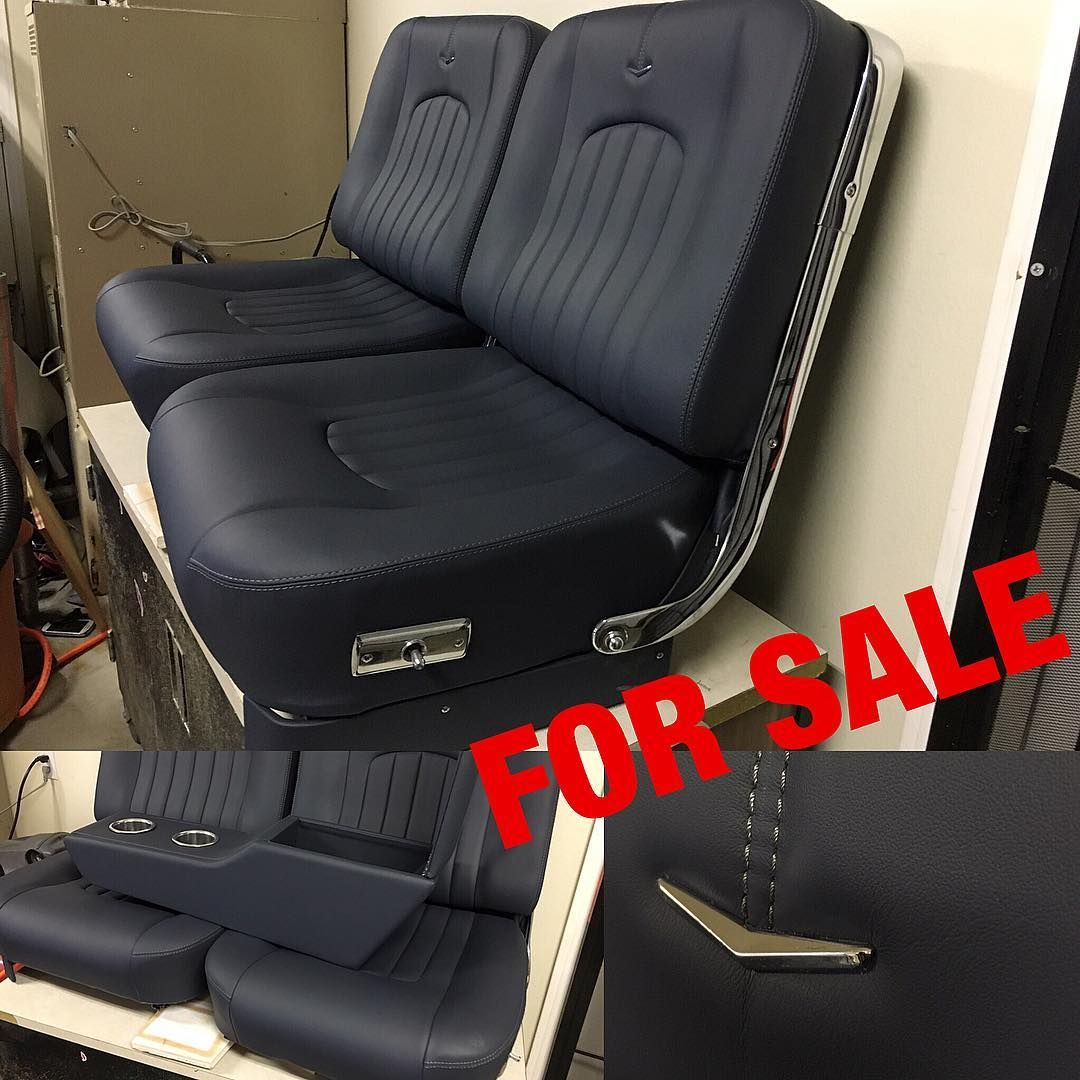 For 1962 1965 Gm Original Electric Bucket Seats With Console Originally
