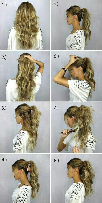 Messy Ponytail Hairstyles Hair Styling Hair Styles Hair Hair Hacks