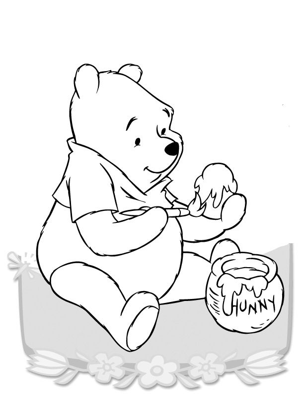 Ausmalbilder Winnie Puuh 23 Disney Coloring Pages