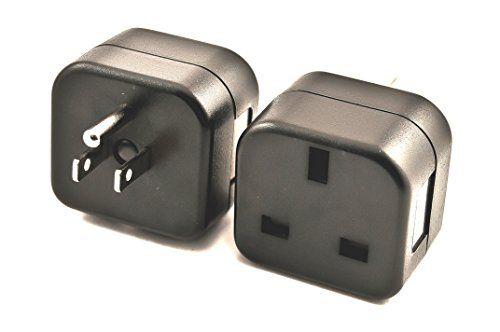 VCT VP18 UK to USA Plug Adapter Converts 3 pin British Plug to 3 Prong Grounded USA Wall Plug VCT http://www.amazon.com/dp/B000NND600/ref=cm_sw_r_pi_dp_CiA4wb1P86V2V