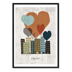 Affiche city love - a télécharger