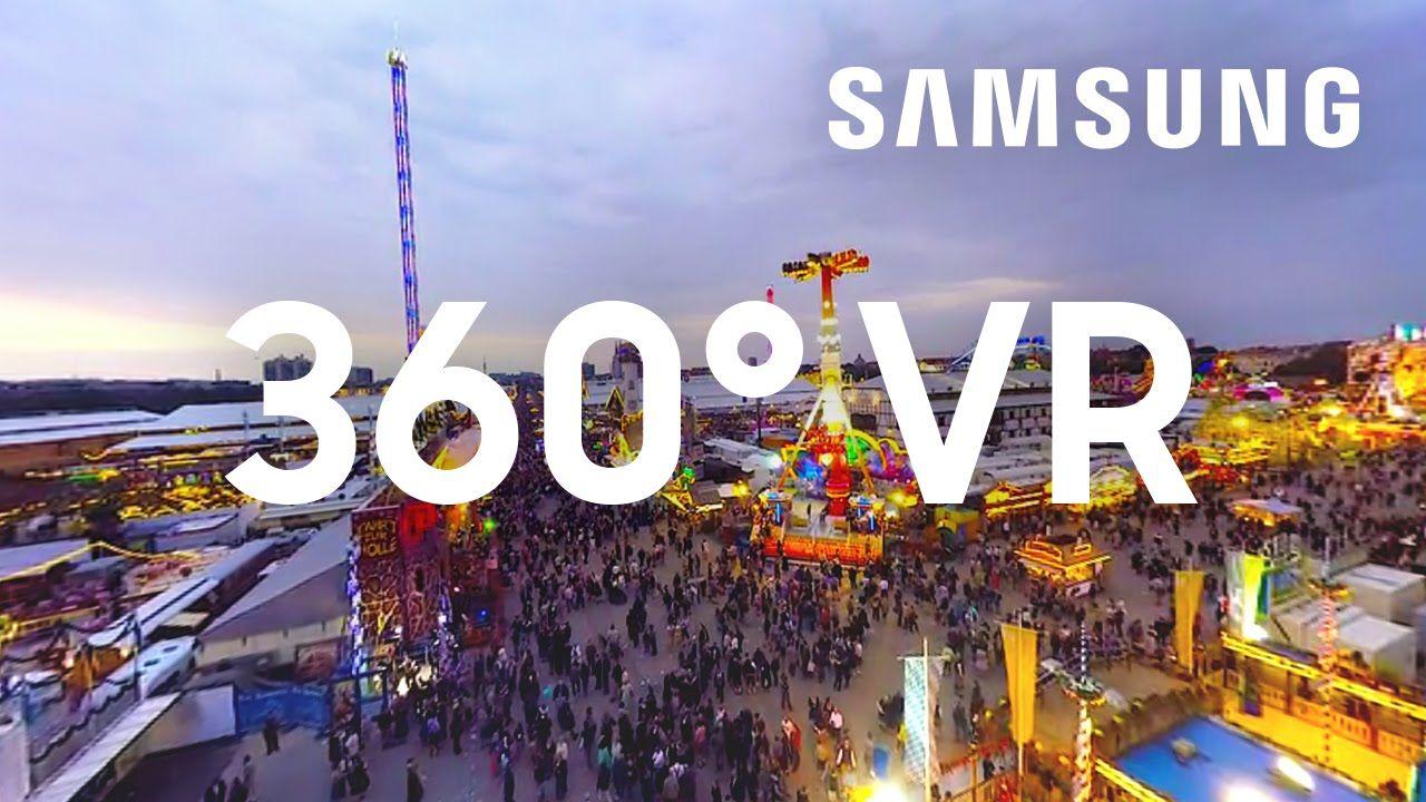 Samsung 360° VR Oktoberfest Munich Virtual reality
