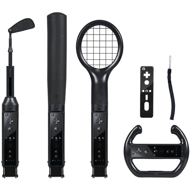CTA Digital Wii Grand Slam Sports Pack (Black) Sport