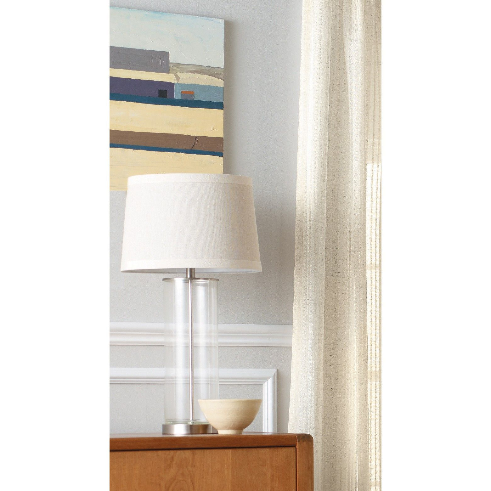 This Versatile Lamp Base From Threshold Complements A Wide Variety Of  Furnishings And Du0026eacute;cor