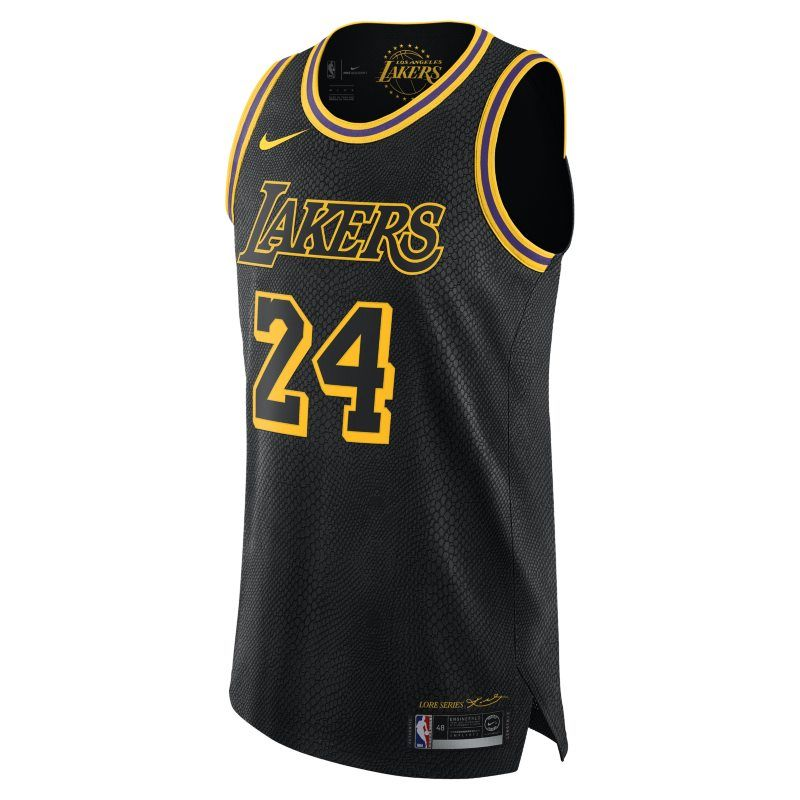 Kobe bryant city edition authentic los angeles lakers