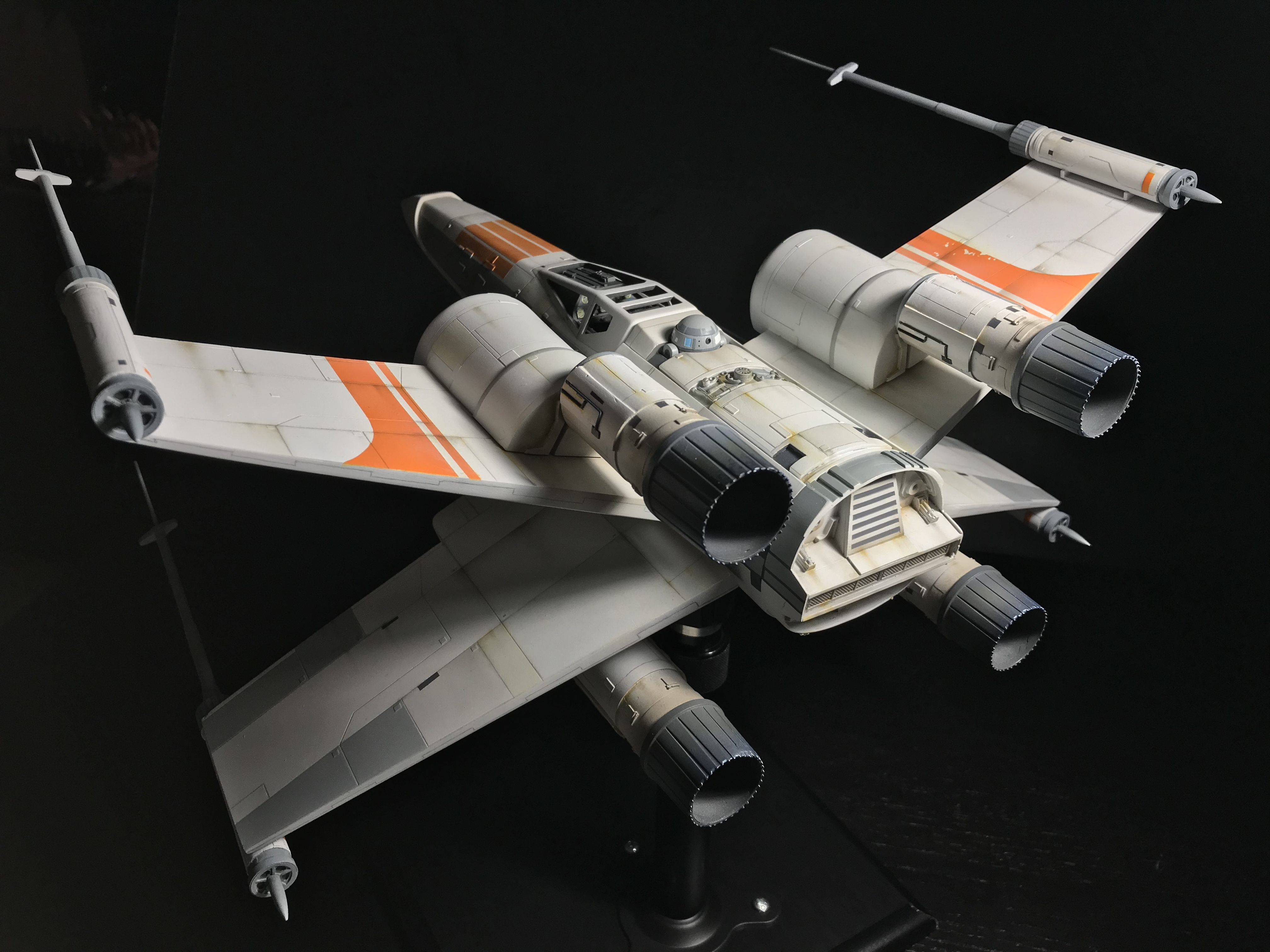 Superb McQuarrie X Wing 1:24 Scale. Casting By FM Sci Fi Models