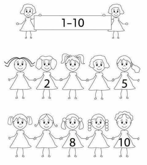 Pin von Yoli auf matematicas | Pinterest | Vorschule, Zahlen und Rechnen