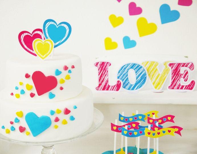 Modern Valentine Guest Dessert Feature Amy Atlas Events