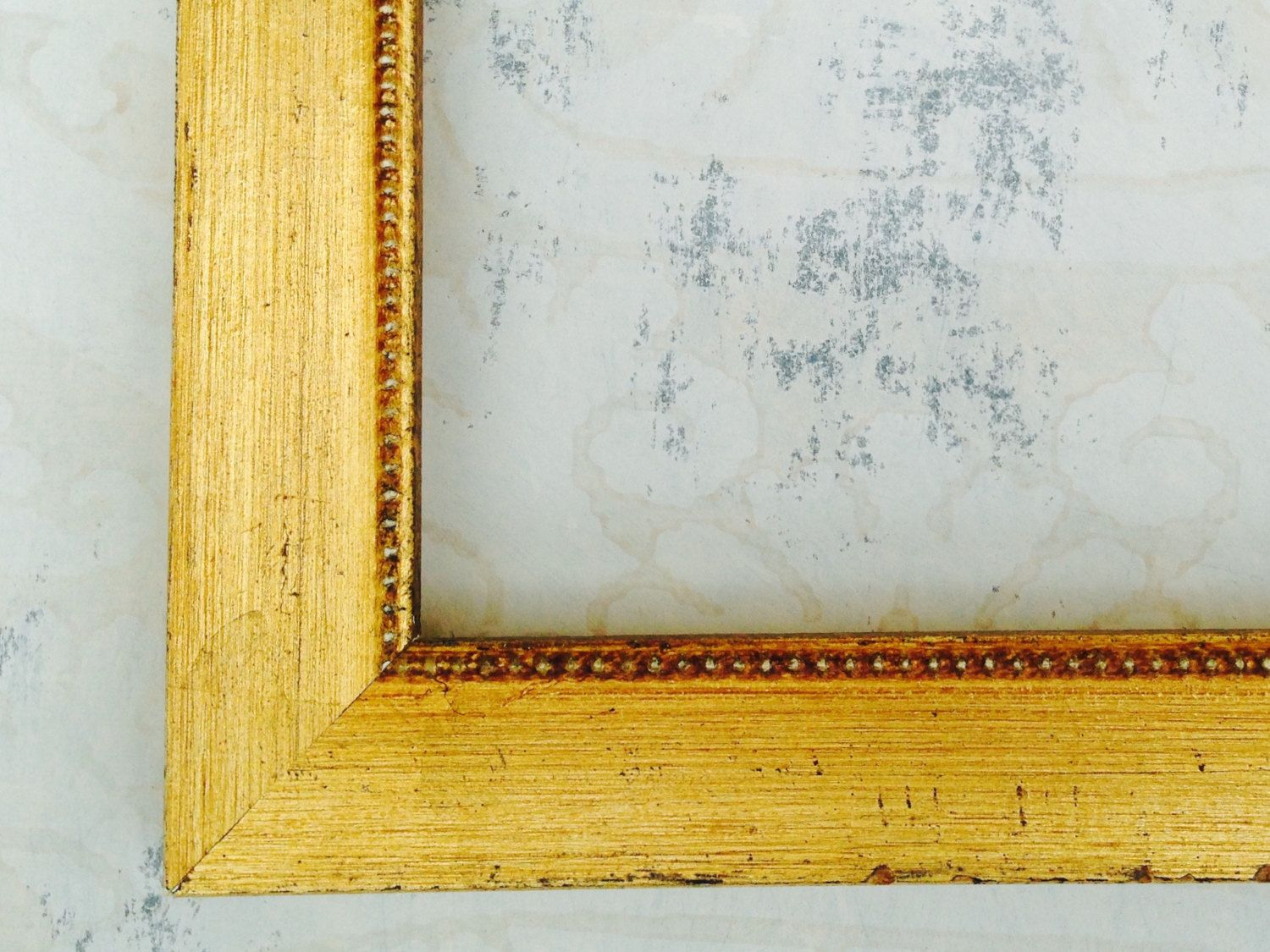 Shabby Chic Vintage Gold Picture Frame - 4x4, 4x6, 5x7, 8x8, 8x10 ...