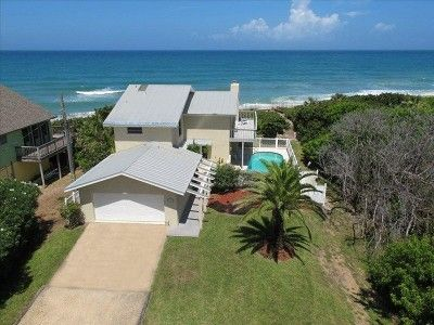 Secluded Direct Ocean Front House With Private Pool Near Disney