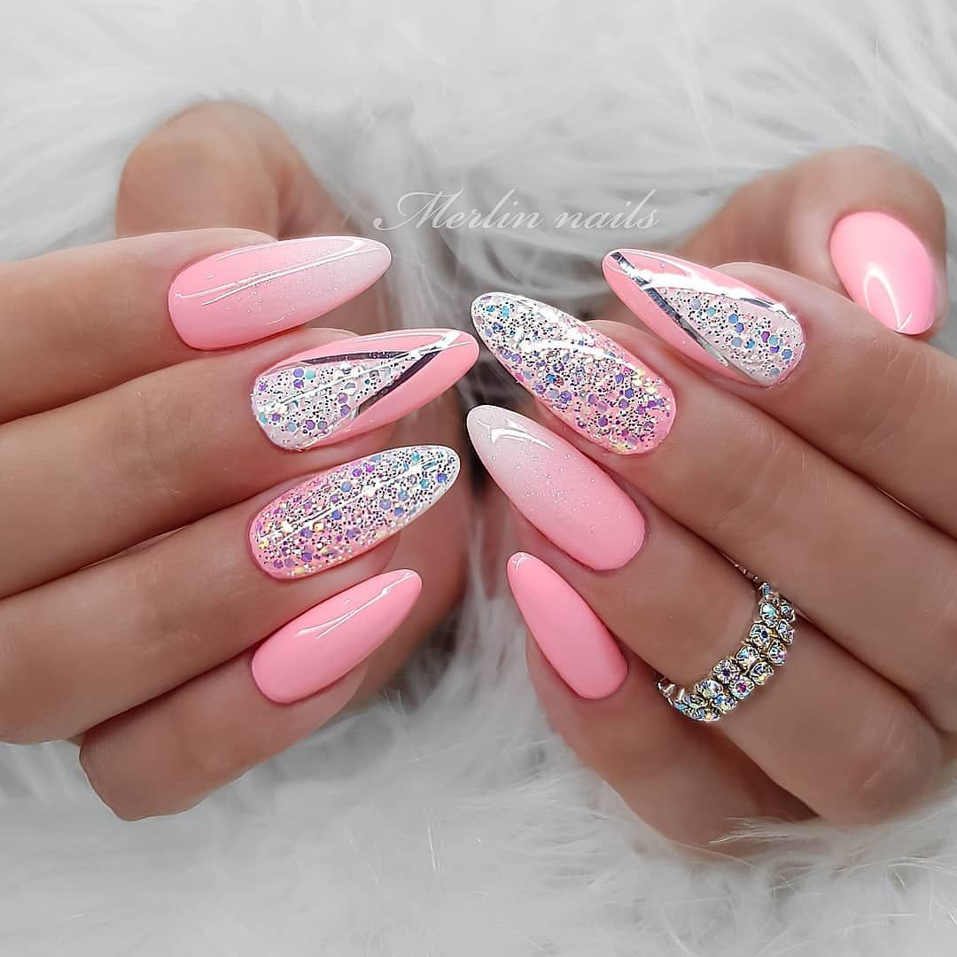 Pin By Lauren Trahan On Nails In 2020 Popular Nail Designs Nail
