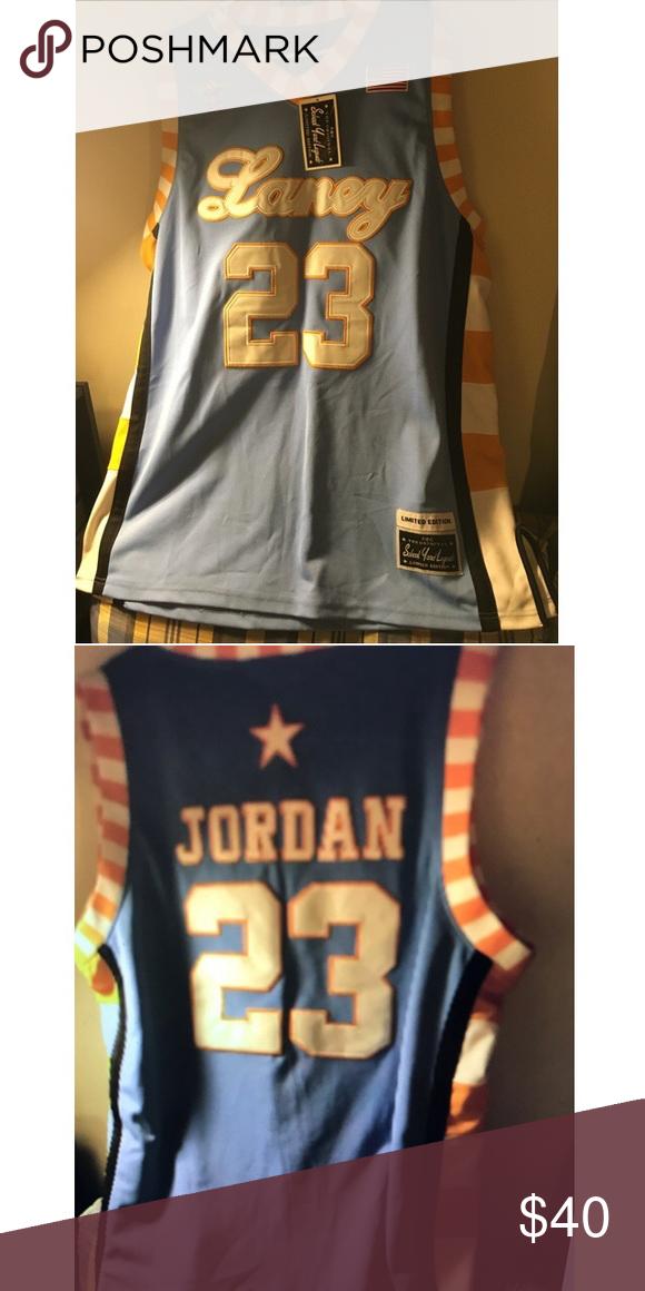 d12e331bd Limited edition Michael Jordan Jersey Limited edition school yard legends  Michael Jordan high school jersey