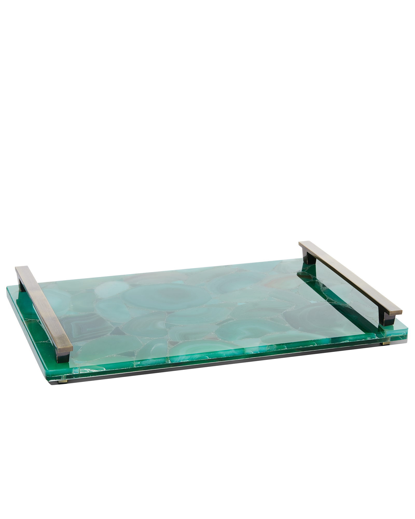 Large Decorative Serving Trays Amazing Large Tray In Green Agate  Accessory Inspiration  Pinterest Design Inspiration