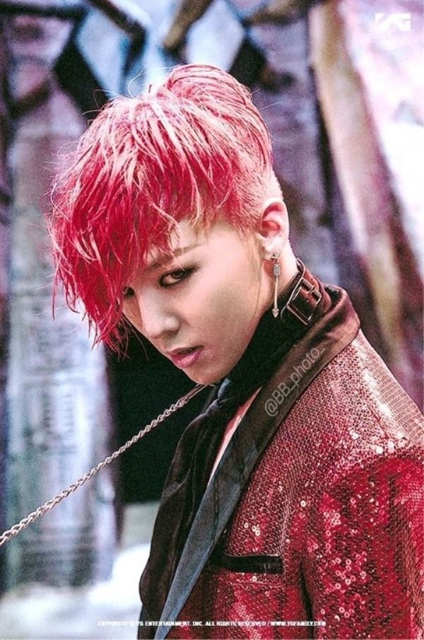 Male K Pop Stars Who Are On Fire With Red Hair Jiyong Daesung Seungri