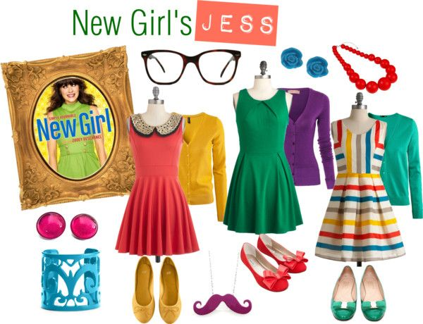 TV Show Halloween Inspiration - New Girl's Jess