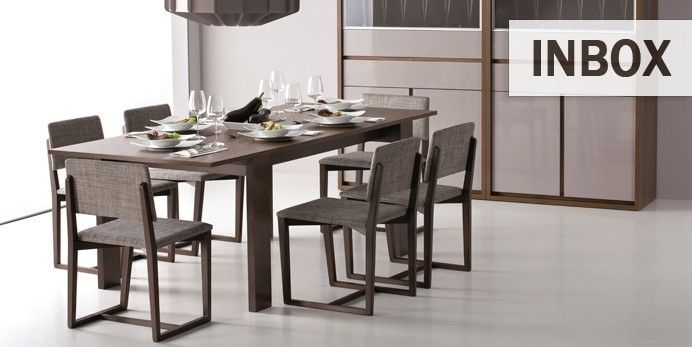 Table à manger moderne avec rallonges pour #salon et salle à manger