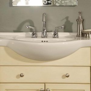 Narrow Depth Bathroom Vanity Cabinets