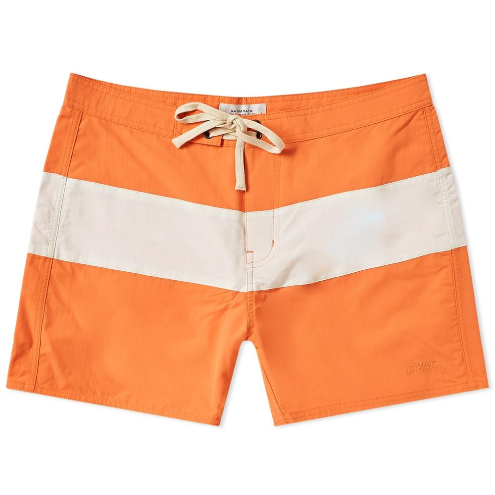 bfa860b289 SATURDAYS SURF NYC SATURDAYS NYC GRANT BOARDSHORT. #saturdayssurfnyc #cloth
