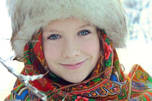 So Pretty :) Russian Traditional Costume.