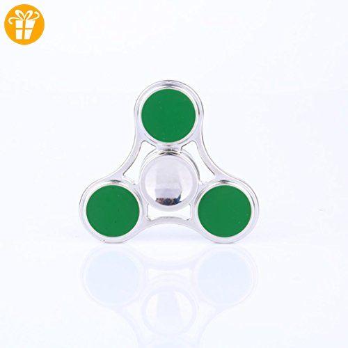 Omiky® 2017 Fidget Cube Hand Spinner Angst Stress Relief Fokus Schreibtisch Spielzeug Geschenk Erwachsene Kinder (Grün) - Fidget spinner (*Partner-Link)