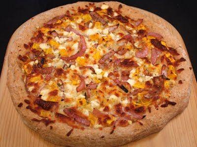 Tomato-less pizza!