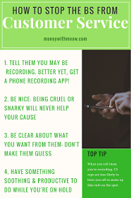 How do you stop a customer service rep to stop telling you lies? Follow these easy tips to get good info out of apathetic customer service reps. More at moneywithmeow.com.