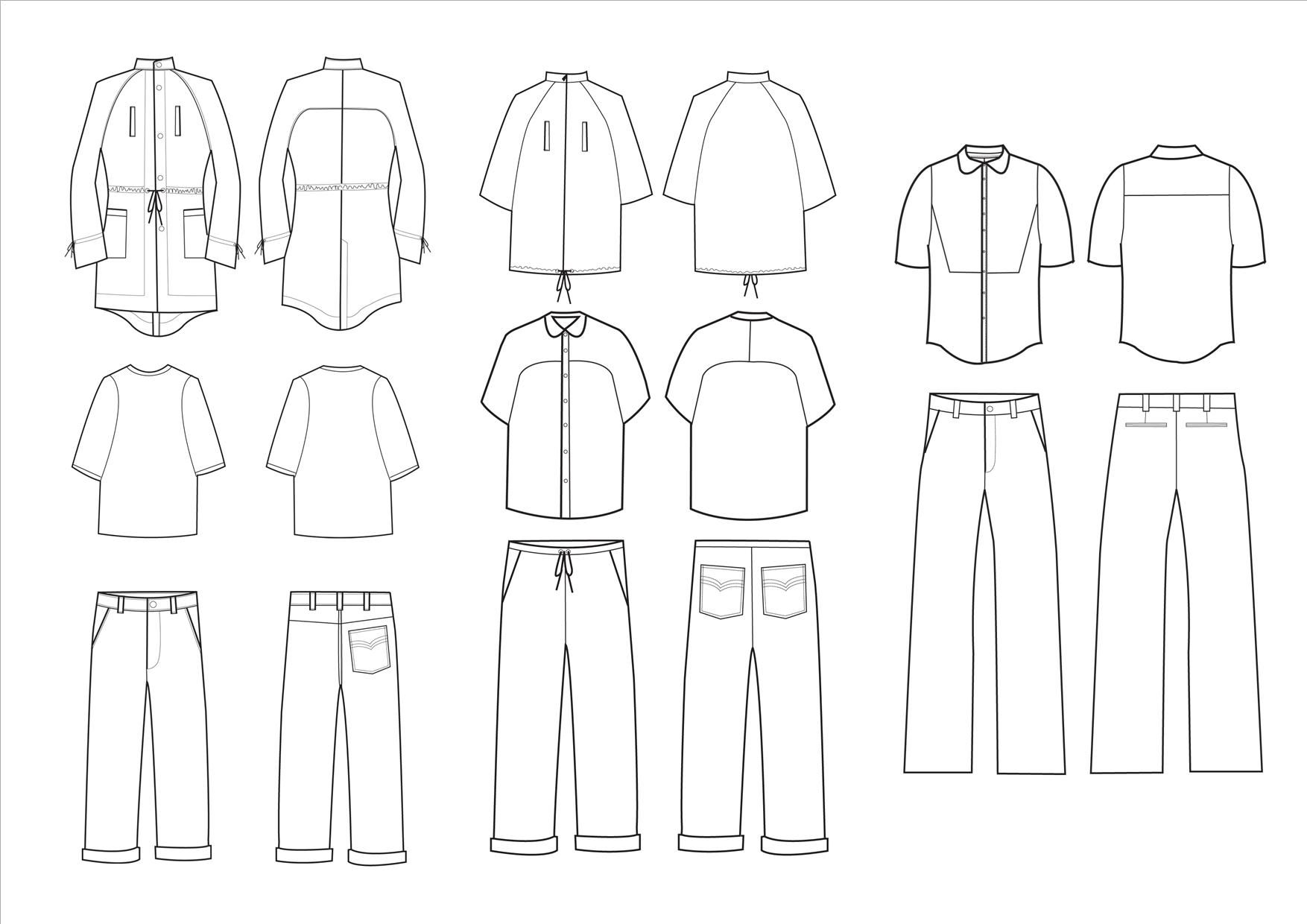 I can create 2 Complex or Detailed Fashion Design