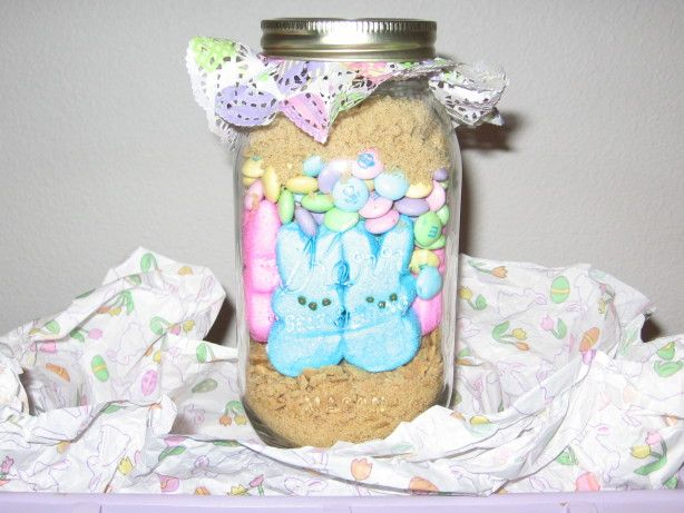 Easter bunny smores in a jar recipe easter easter bunny and bunny easter bunny smores in a jar negle Images