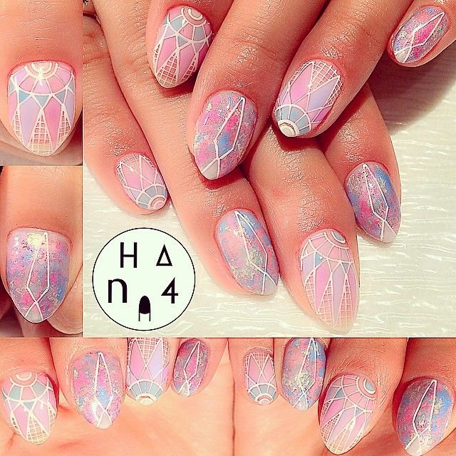 Hana4 | Japanese nail art | Amazing Nail Art Designs | Pinterest ...