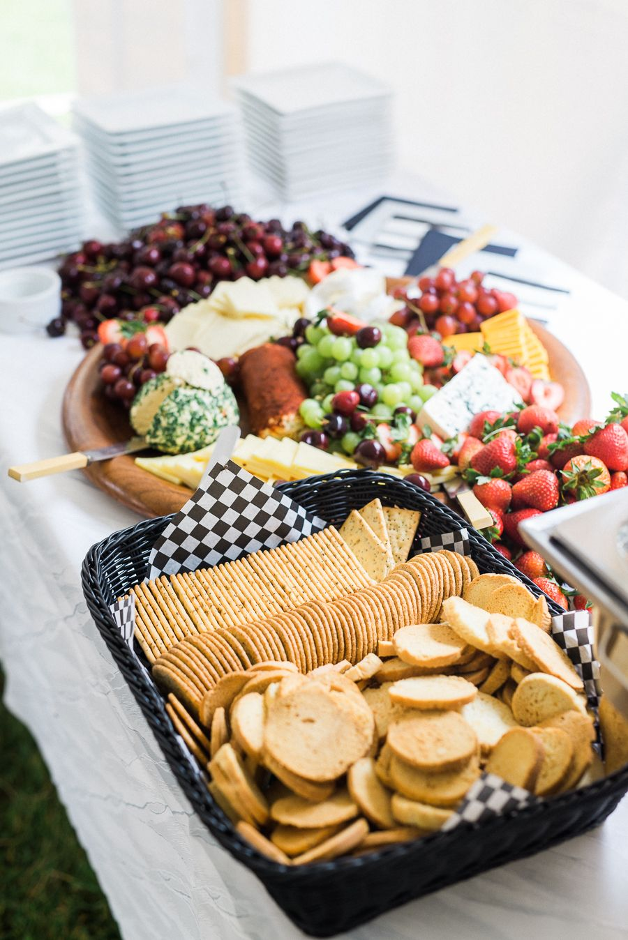 Intimate Backyard Wedding | Reception food, Wedding ...