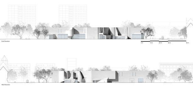 Bauhaus Museum Dessau Preliminary Research Office Architectural Section Bauhaus Architecture