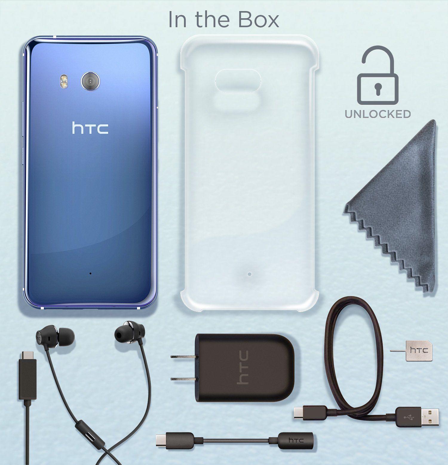 HTC U11 with handsfree Amazon Alexa – Factory Unlocked â