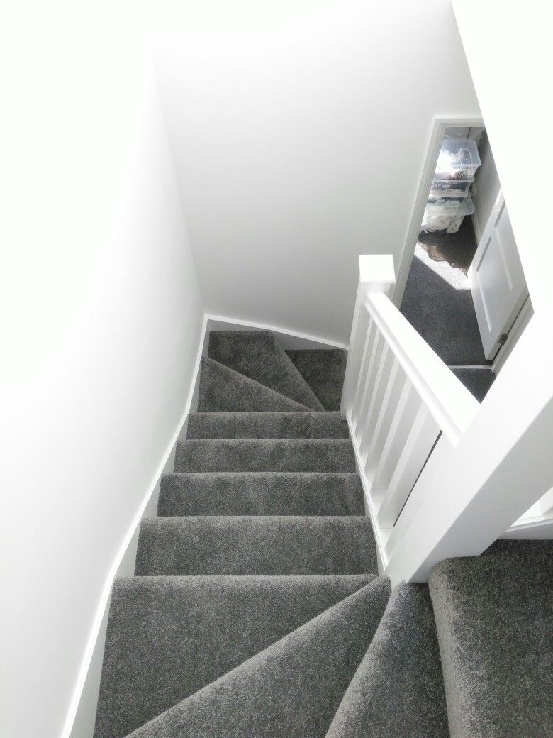 Best Stairs Grey Carpet White Walls Grey Carpet Bedroom Grey 400 x 300