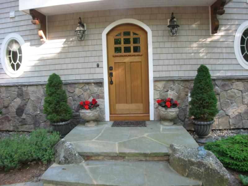 Want to cover the back stoop and blend into the flagstone patio/walkway! Like & Want to cover the back stoop and blend into the flagstone patio ...