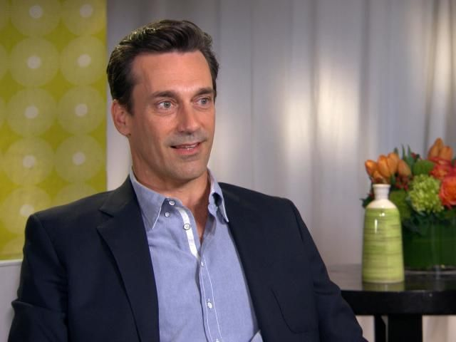 Does Jon Hamm Have Baby on the Brain After 'Minions'? - Verizon