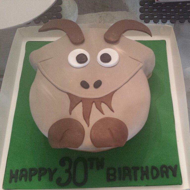Goat Themed Cake- Sugarlicious Cakes By Helen