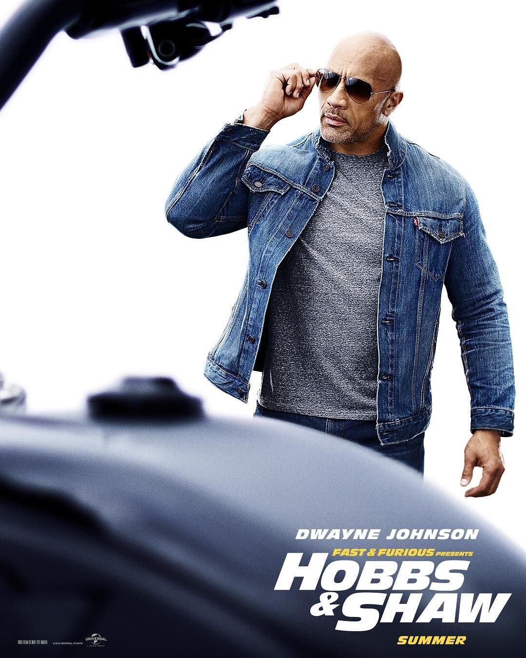 Dwayne Johnson Is Luke Hobbs In Fast Furious Presents Hobbs Shaw Fast And Furious Dwayne Johnson Hobbs