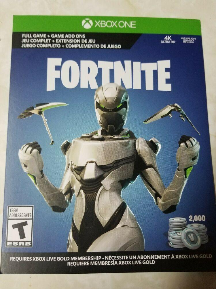 Fortnite Eon Skin Cosmetic Set & 2,000 V-Bucks - Xbox One #fortnite