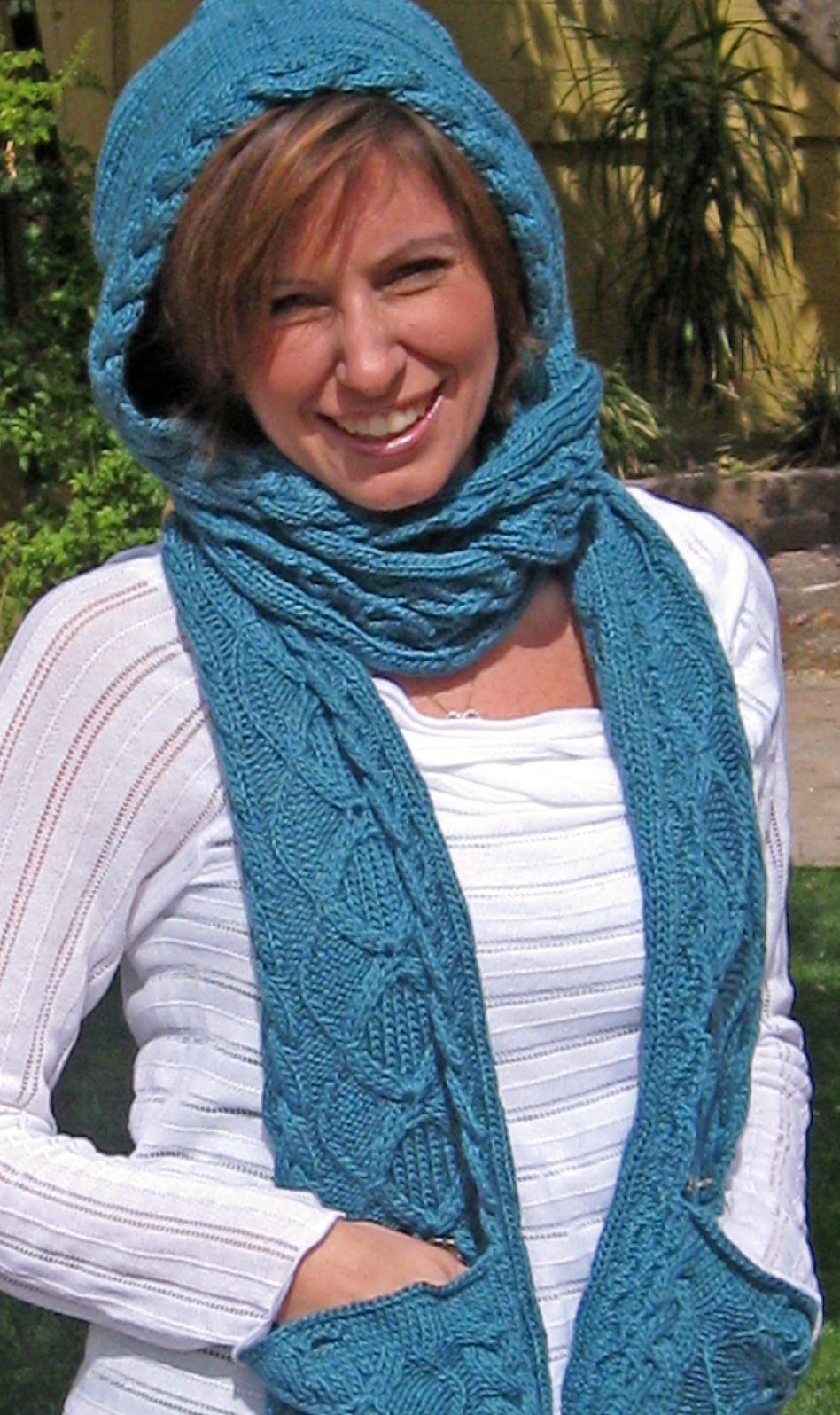 Pocket Wrap Knitting Patterns Scarf Cowl Knitting Patterns