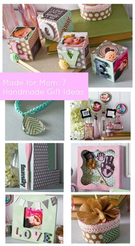 Made For Mom: 7 DIY Mother's Day Gift Ideas using Mod Podge