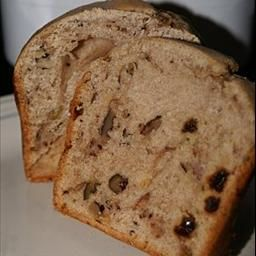 Bread Machine Anne's Apple, Raisin and Nut Cake on BigOven: This turned out  so very delicious, and very moist. Recipe makes a one pound loaf
